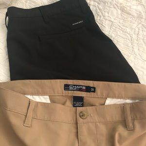 Chaps Shorts - Chaps Golf 78 Men's Shorts, Lot of 2, EUC, sz. 38